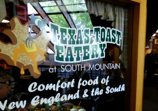 Texas Toast Eatery : You are welcome to enter...