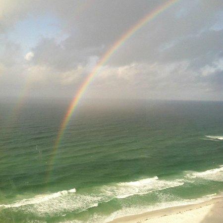 Sandestin Golf and Beach Resort: after a 10 minute rain shower, a magical rainbow appeared