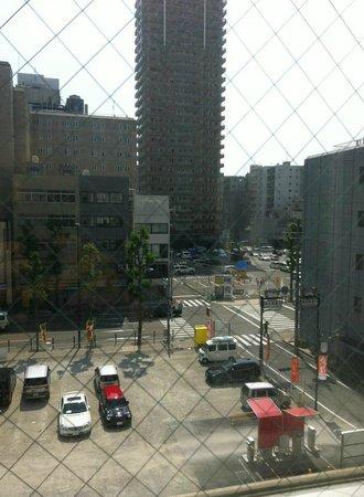 Best Western Hotel Fino Osaka Shinsaibashi: View from room.