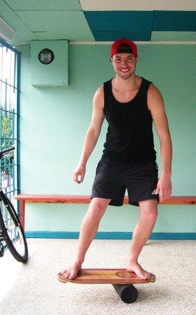 Stolas Hostel: balancing act