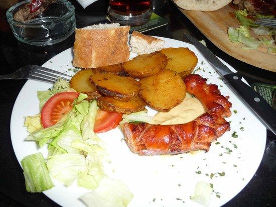 Creme Caffé Il Balcone : Czech sausage