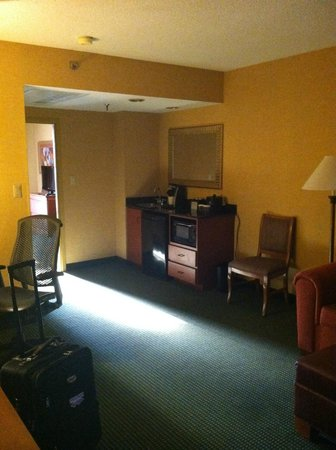 Embassy Suites by Hilton Greensboro - Airport: Living Space