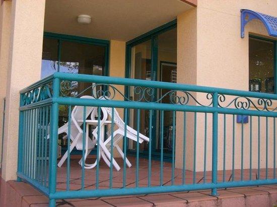 Aruba Sands Resort: SOUTH FACING BALCONY