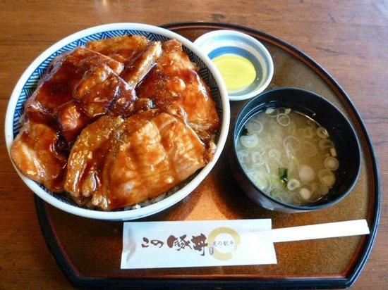 Shiranuka Koitoi Michi-no-Eki: 豚丼