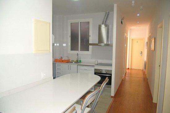Residencia Universitaria Augusta: Kitchen
