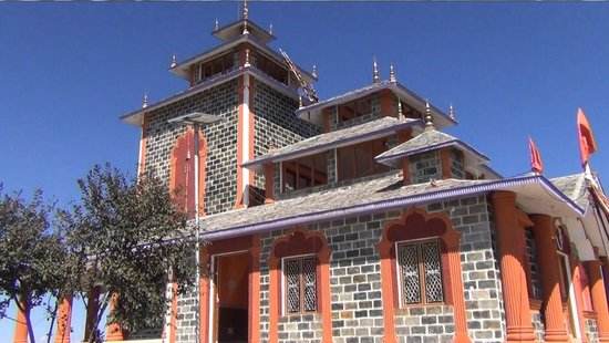 New Tehri, India: The New Temple Building