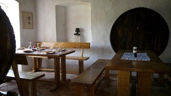 Dol, Hırvatistan: Interior - dining area
