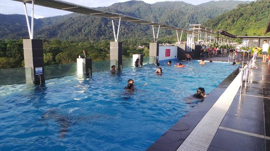 swimming pool at top floor of the hotel picture of taiping lake gardens taiping tripadvisor