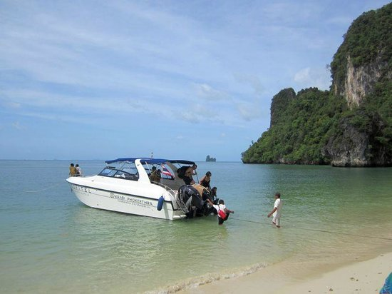 Sofitel Krabi Phokeethra Golf & Spa Resort: Hotel Speedboat to Islands
