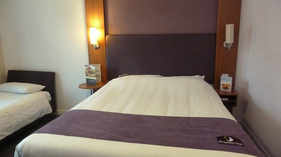 Premier Inn London Southwark (Tate Modern) Hotel: Main bed