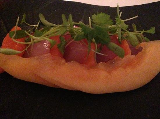 James: sashimi - starter