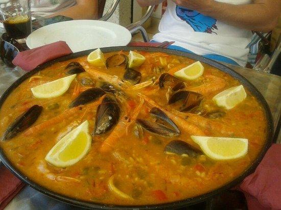 Ca l'Aureli: Paella de Marisco