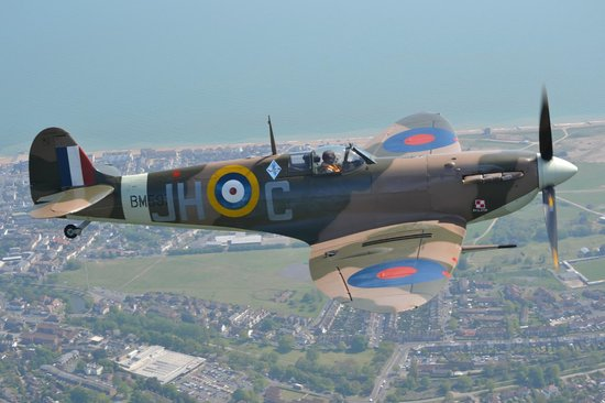 Action Stations: Spitfire over Kent 2013
