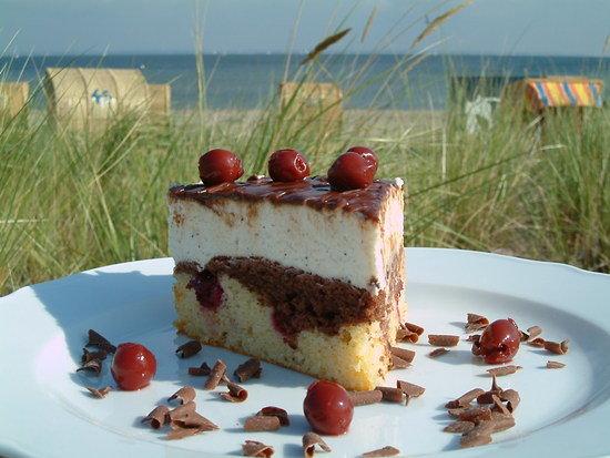 Strandvilla am Hafen: Torte