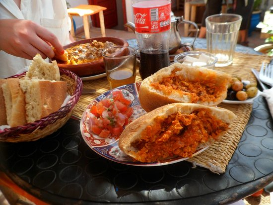 Henna cafe : The best food in Marrakech