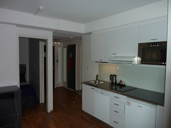 Thon Hotel Oslo Panorama: kitchen