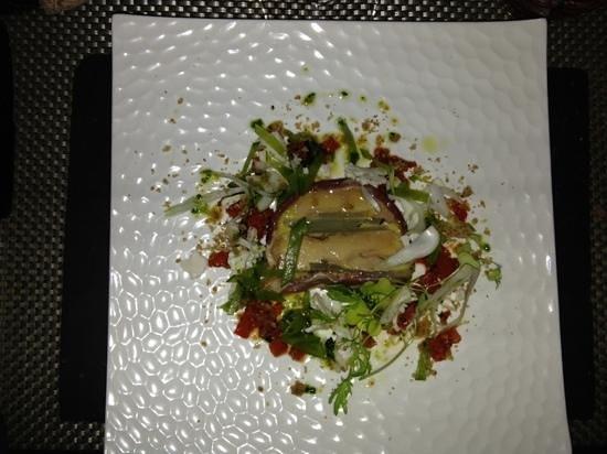 Le Carré Rouge : marbré de foie gras !