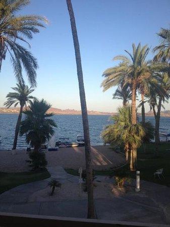 Beach suite view