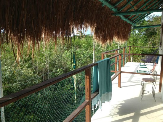 El Jardin de Frida: balconcino delle camere al 1 piano