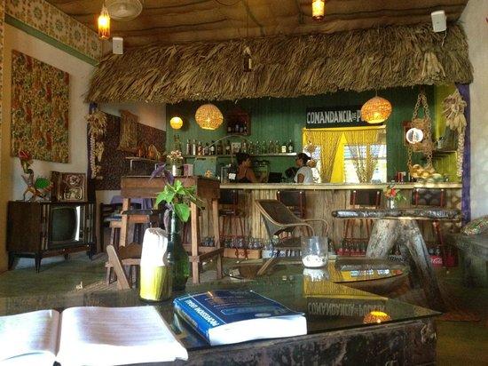 El Jardín de Frida: bar ristorante dell'ostello