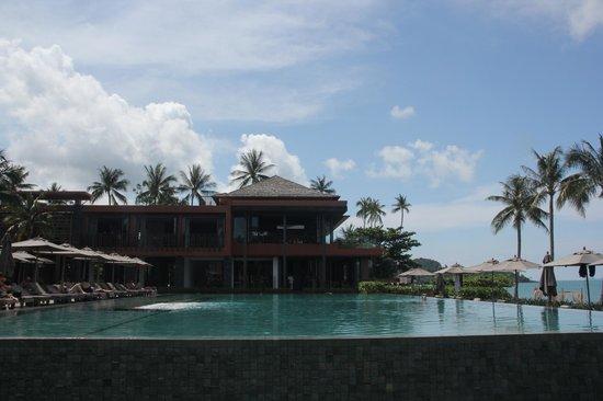 Hansar Samui Resort: Hotel and Pool