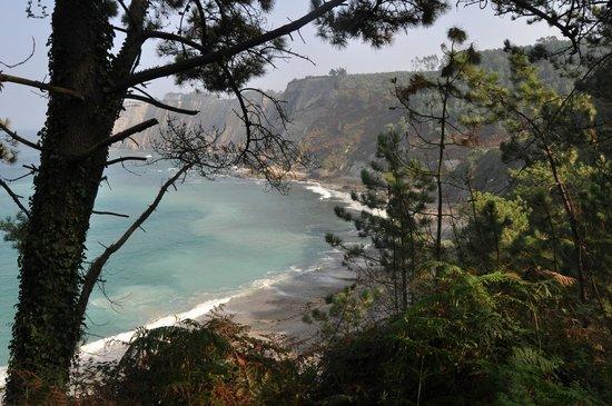 Casona la Sierra: Playa de Oleiros