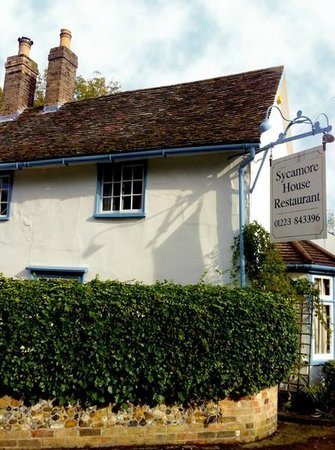 Little Shelford, UK: Sycamore House Restaurant