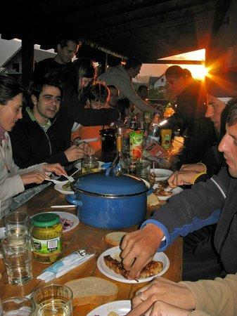 Pensiunea Cehov: athletes dinner