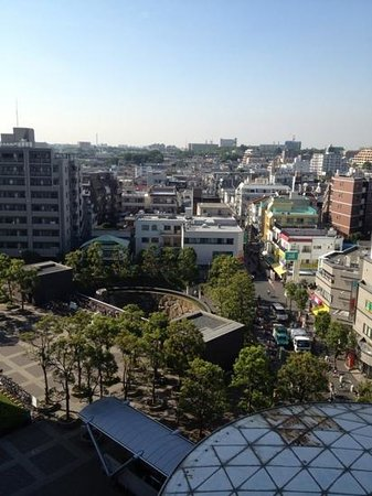 Tokyu Stay Yoga: view from 9th floor room