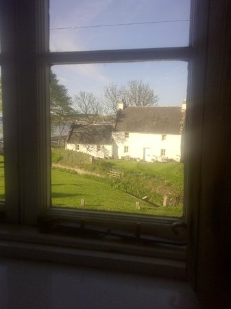 The Old Brewery : view from bedroom