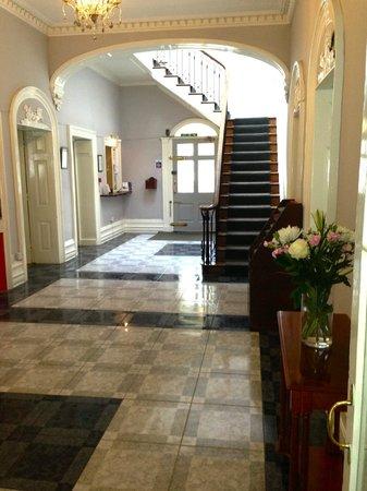 The Antrobus Hotel: Reception area