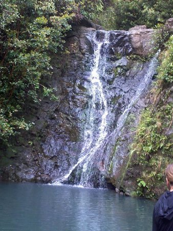 Laie Falls Trail : Made it to the Falls