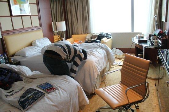 Shanghai Marriott Hotel City Centre: Huge Room