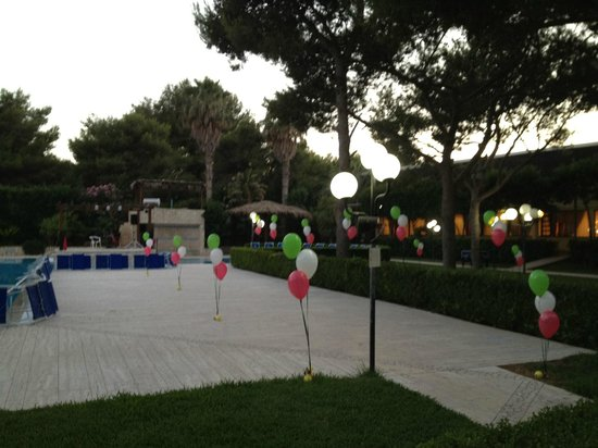 Ugento, إيطاليا: piscina