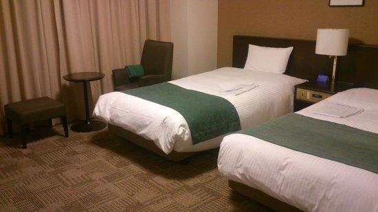 Daiwa Roynet Hotel Kanazawa : 寝室