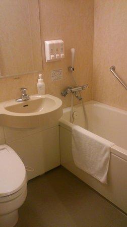 Daiwa Roynet Hotel Kanazawa : バスルーム