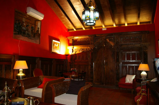 Casa Rural La Puerta Mora: Salon