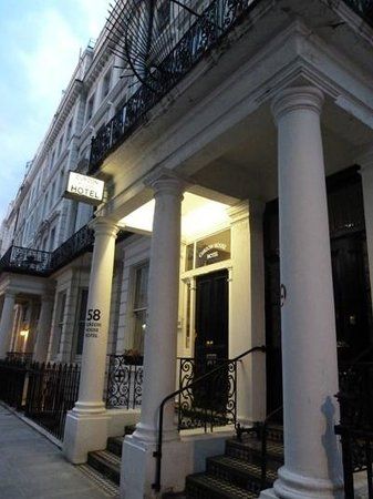 Curzon House Hotel : Hoteleingang