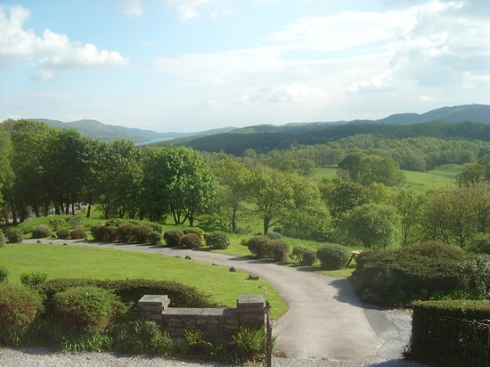 Sawrey Knotts: Only part of the view from the living room.
