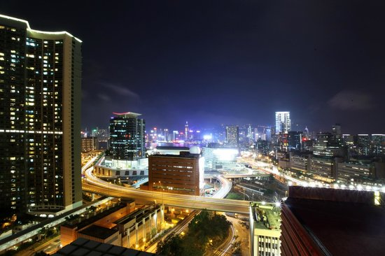 Bridal Tea House Hotel Hung Hom - Winslow Street: Night View