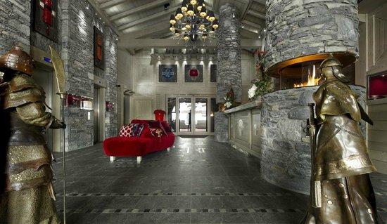 Hôtel Le K2 : Lobby