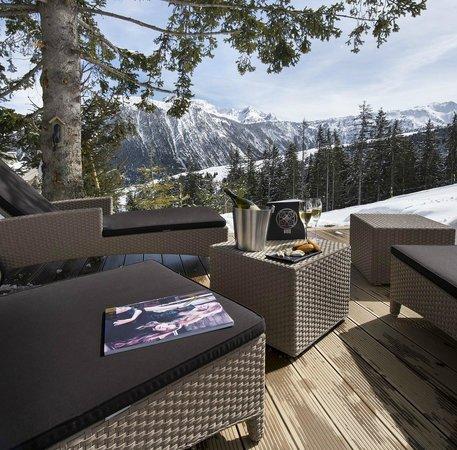 Hôtel Le K2 : Terrace
