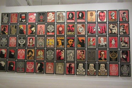 CAC MALAGA (Centro de Arte Contemporaneo de Malaga) : Part of the displays in the Centro de Arte Contemporaneo