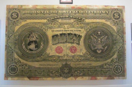 CAC MALAGA (Centro de Arte Contemporaneo de Malaga) : Money you can't spend.