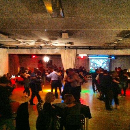 Casole d'Elsa, Itália: Sala da ballo... (tango-latino americano-liscio..)