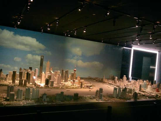 The Bund Diorama Inside The Building Daylight Simulated