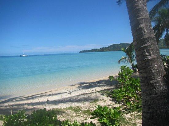 Musket Cove Island Resort: Towards Malolo Island