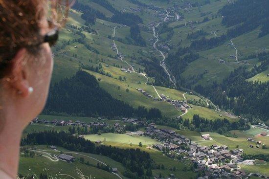 Hotel Böglerhof : Alpbach from the Gratzplitz