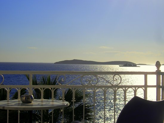 Aneroussa Beach Hotel: Θέα από το δωμάτιο