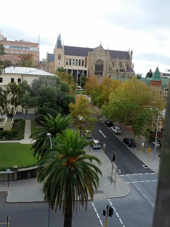 Travelodge Perth: view by day